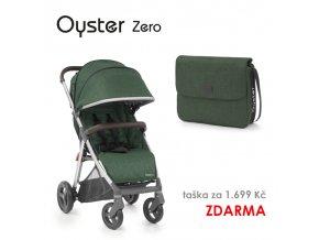 sportovni detsky kocarek babystyle oyster zero taska zdarma alpine green