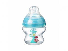 kojenecka lahev tommee tippee c2n anti colic potisk silikon 0 150 ml