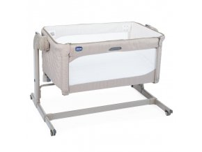 pristavna detska postylka chicco next2me light grey