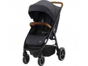 sportovni detsky kocarek britax b agile r black shadow brown