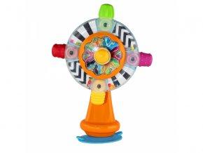 detska edukacni hracka infantino mlynek s prisavkou stick see