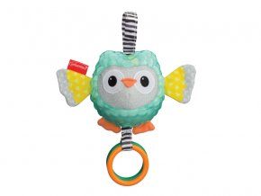 detska hracka na kocarek infantino sova sensory