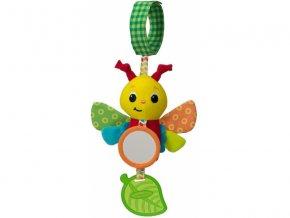 detska hracka na kocarek infantino cinkajici motylek