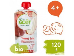 ovocny prikrm od ukonceneho 4 mesice kendamil good gout bio jablko 120 g