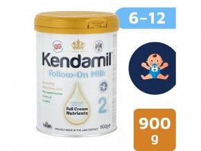 pokracovaci mleko kendamil 2 dha 6 12 mesicu 900 g