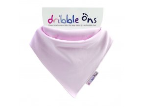 detsky bryndacek dribble ons classic baby pink