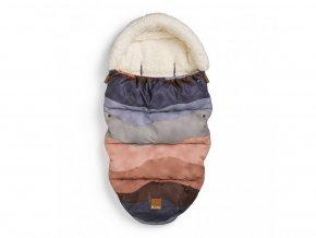 detsky fusak do kocarku elodie details stroller bags winter sunset