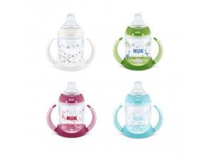 detska lahev na uceni nuk fc 6 mesicu 150 ml new bila
