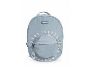 detsky batuzek childhome kids school backpack grey off white