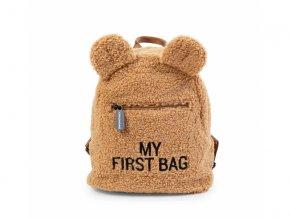 detsky batuzek childhome my first bag teddy beige