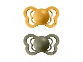detske siditko bibs couture velikost 1 2 kusy honey bee olive