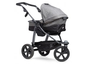 detsky kocarek tfk mono premium combi pushchrair air chamber grey