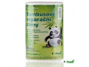Dětské pleny T-Tomi separační, bambusové