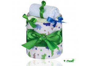 Plenkový dort T-Tomi Lux Krokodýl-malý