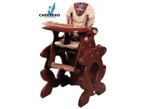 Dětská jídelní židlička Caretero Primus