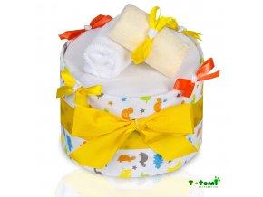 Plenkový dort T-Tomi Lux Žirafa-velký