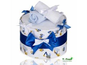 Plenkový dort T-Tomi Lux Bagr-velký
