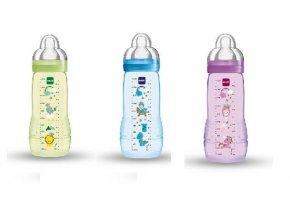 kojenecka lahev mam fairytale 330 ml fialova