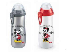 detska lahev nuk fc sports cup disney mickey + 3 roky 450 ml