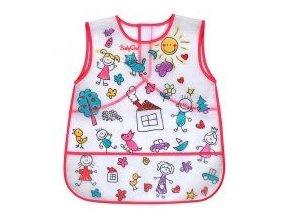 Dětský bryndáček-zástěrka Baby Ono omyvatelný s kapsou + 36 měsíců