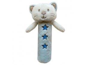 Dětská plyšová hračka Bobobaby Kočička pískací
