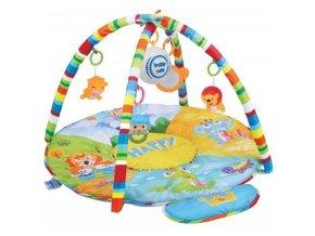 detska hraci deka s hracim modulem baby mix safari
