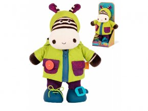 detska edukacni hracka b toys prevlekaci zebra zebb