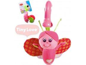 Dětská hračka na kočárek Tiny Love Smarts Motýlek Betty
