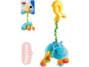 Dětská hračka na kočárek Tiny Love Smarts Hrošík Harry