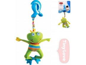 Dětská hračka na kočárek Tiny Love Smarts Žabák Frankie