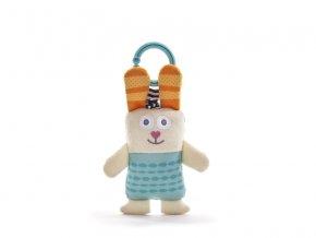 detska hracka na kocarek taf toys vibrujici kralik ronnie