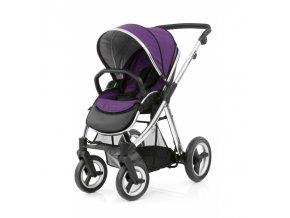 sportovni detsky kocarek babystyle max mirror wild purple