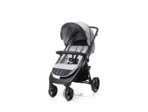 sportovni detsky kocarek 4baby quick light grey
