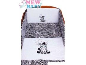 detske povleceni do postylky new baby zebra 5 ti dilne 90 120 cm