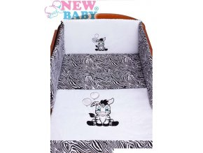 detske povleceni do postylky new baby zebra 3 dilne 100 135 cm