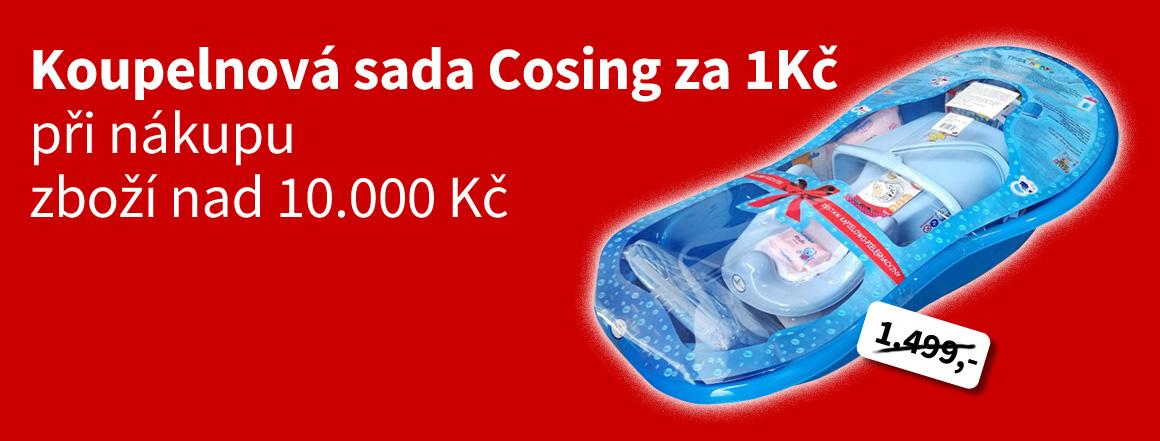 Koupací sada Cosing za 1Kč při nákupu zboží nad 10000 Kč