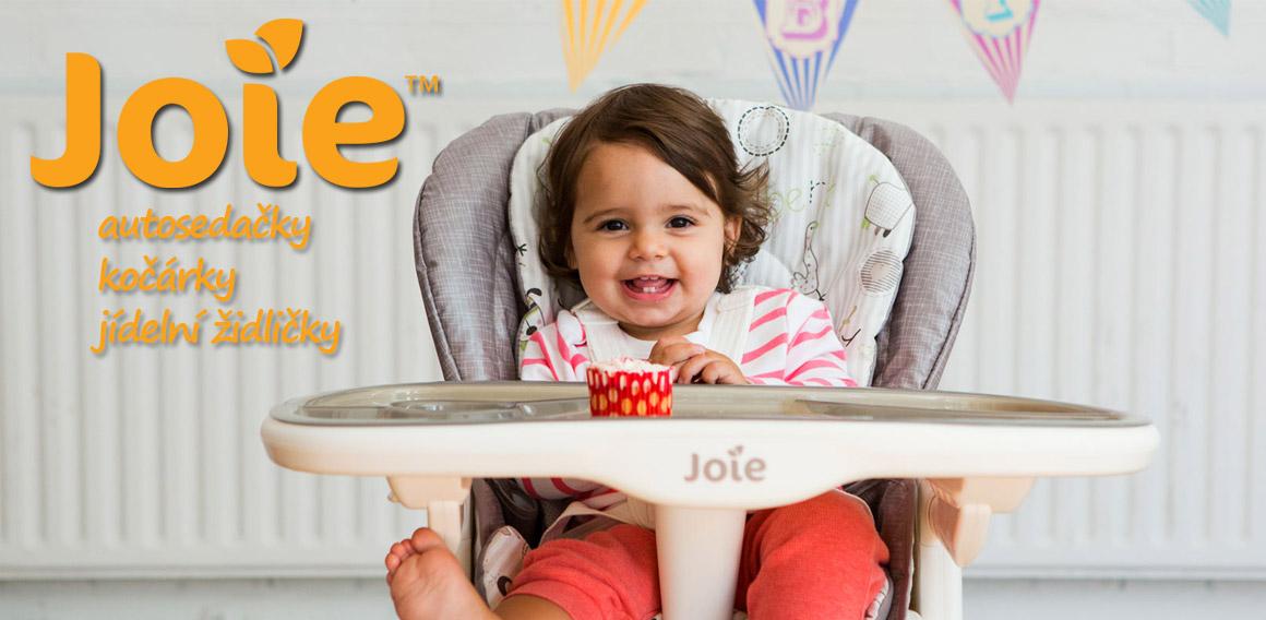Joie - aurosedačky, kočárky, jídelní židličky