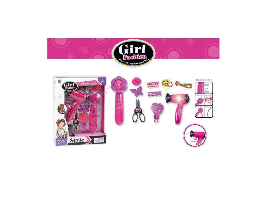 Wiky Vlasový set pro holčičky