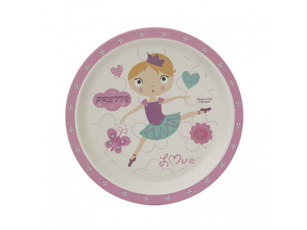 Bambusový talířek, Dancing girl