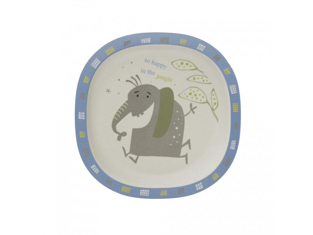 Bambusový talířek, Elephant