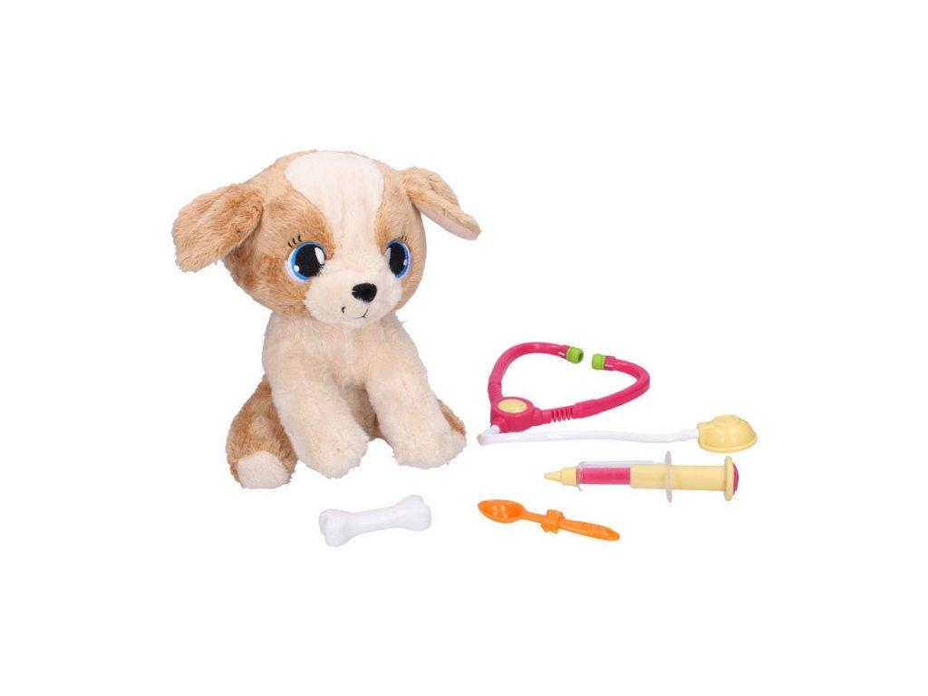 Wiky Pes veterinář se zvukovými efekty 30 cm