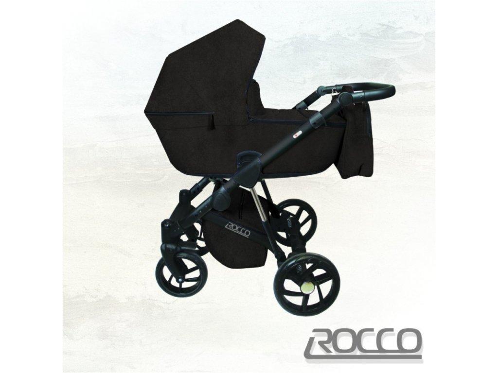 Dorjan kombinovaný kočárek Rocco Ecco, 03 Graphite