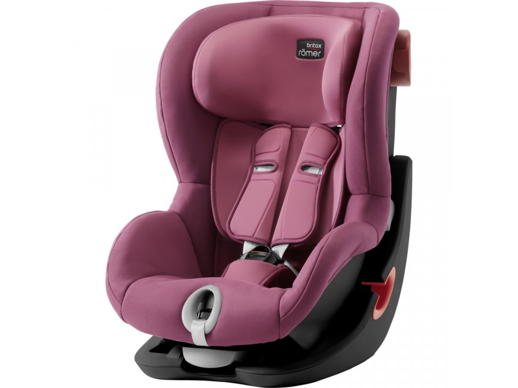 BRITAX RÖMER Autosedačka King II LS Black 2018 - Wine Rose