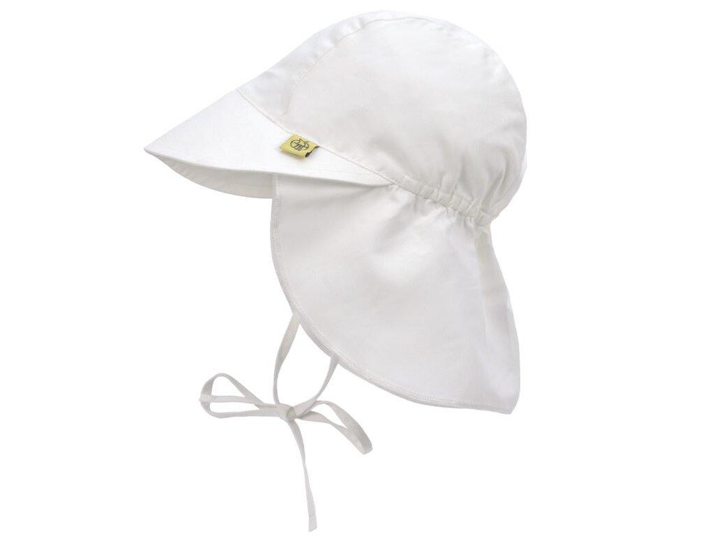 Sun Flap Hat white 18-36 mo.