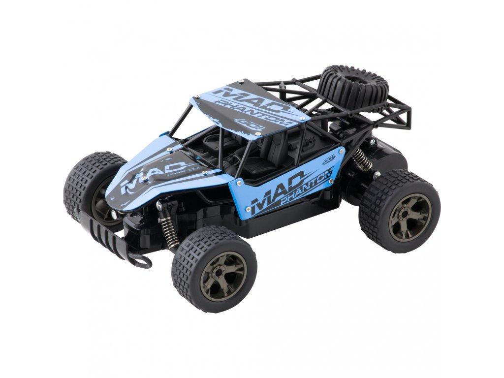 Buddy Toys RC auto na ovládání Bulan - modrá