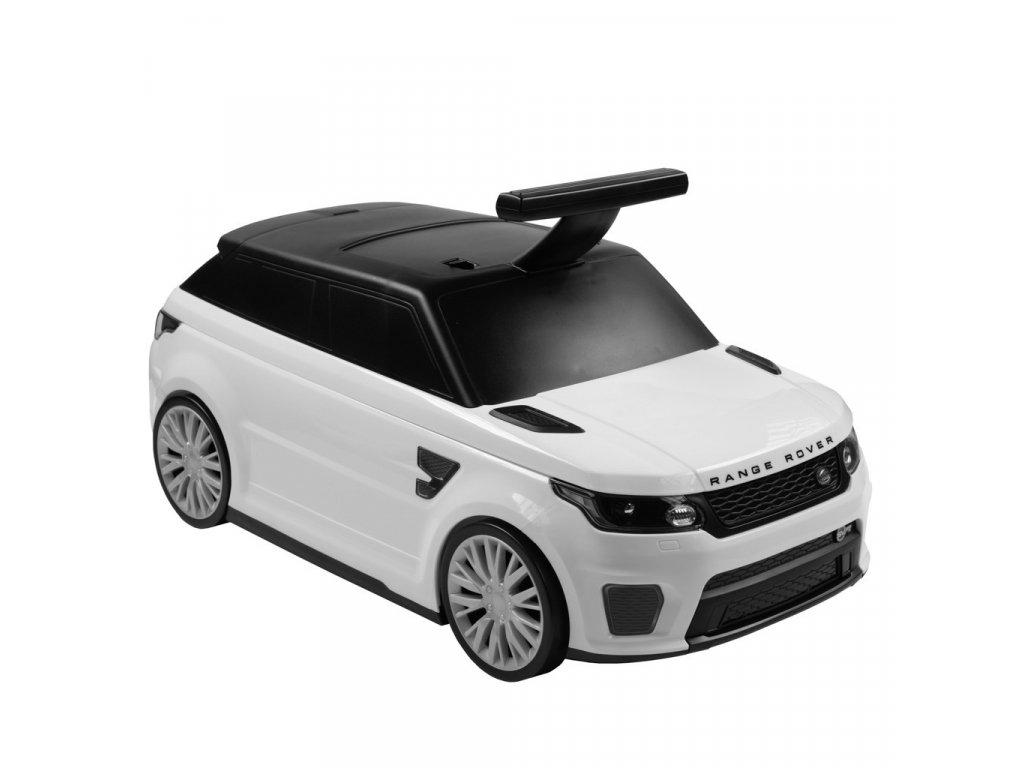 Bayo odrážedlo/kufřík 2v1 Range Rover SVR, white