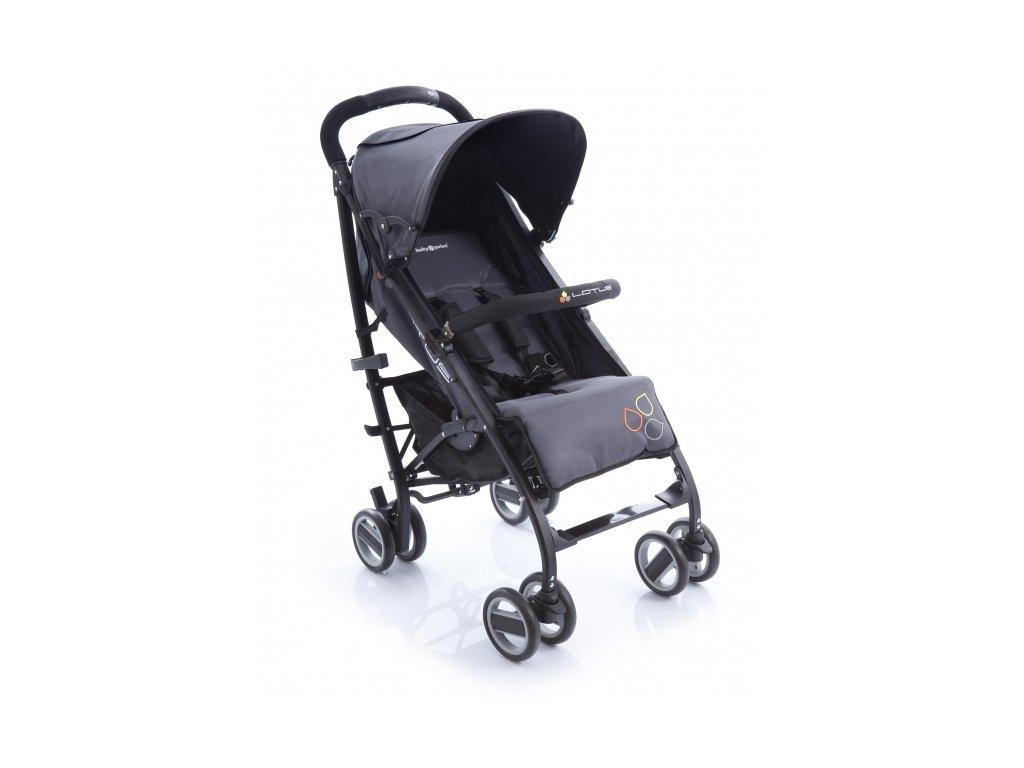 Babypoint kočárek Lotus - černý