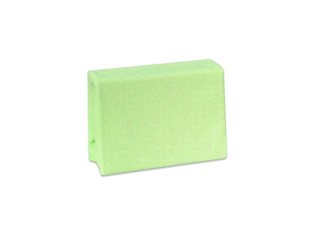 Nepropustné froté prostěradlo Cosing do postýlky - 120x60 cm - zelené