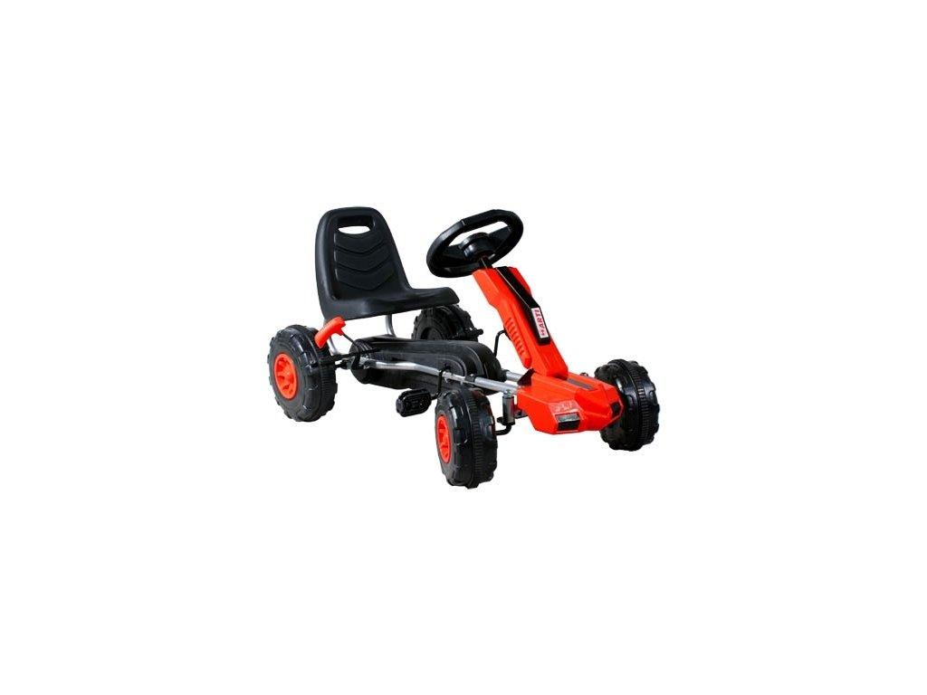 Arti šlapací motokára Buggy XT GM48 - Červená