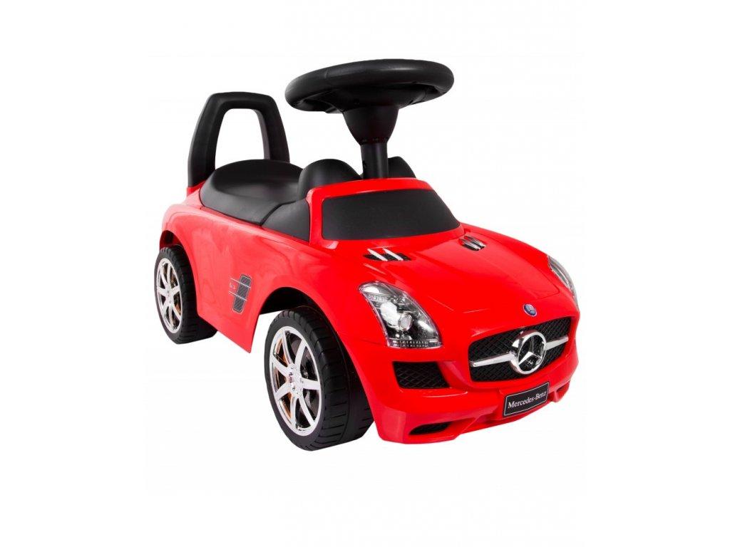 Baby Mix odrážedlo Mercedes-Benz SLS AMG – Červené